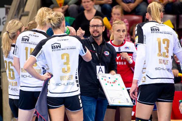Handball: SG BBM Bietigheim: Martin Albertsen – Foto: Marco Wolf
