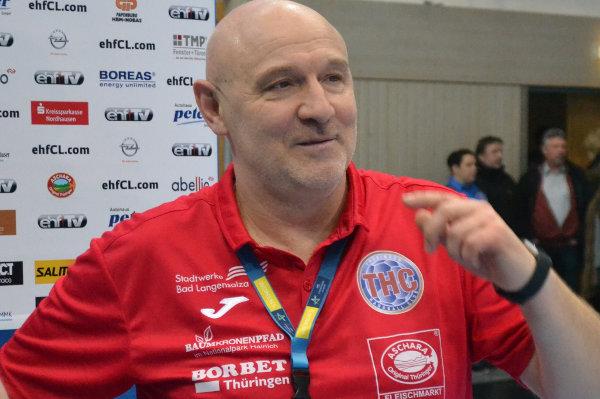 Handball Bundesliga: Herbert Müller - Thüringer HC - Foto: Hans-Joachim Steinbach / Thüringer HC