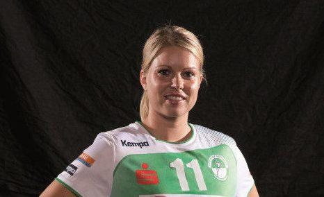 """Handball Bundesliga Frauen: Michaela Hrbkova im Bild) und Sarah van Gulik """"Spielerinnen der Saison"""" - Foto: HBF"""