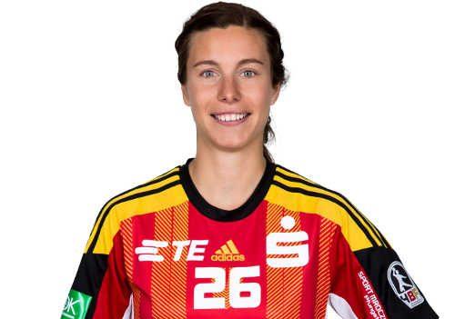 """Handball Bundesliga Frauen: Michaela Hrbkova und Sarah van Gulik im Bild) """"Spielerinnen der Saison"""" - Foto: HBF"""