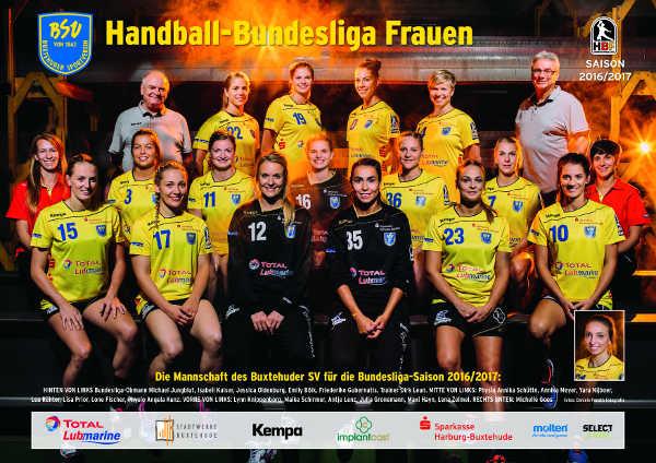 Handball: Buxtehuder SV - 2016/2017 - Foto: Buxtehuder SV