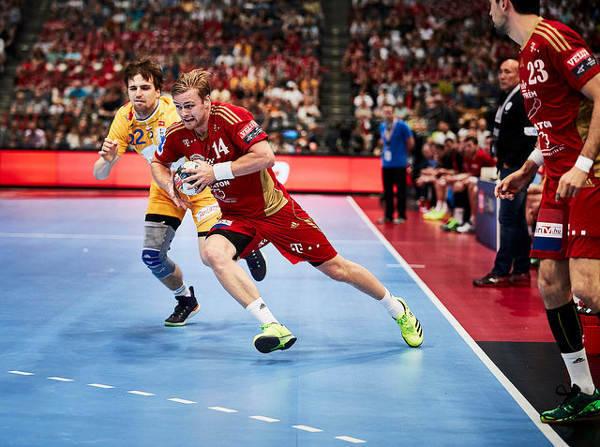 Aron Palmarsson - Handball VELUX EHF FINAL4 2016 Final: KS Vive Tauron Kielce vs. MVM Veszprem © 2016 EHF / Uros Hocevar LANXESS Arena, Cologne, Germany