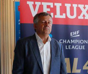 Handball VELUX EHF FINAL4: EHF-Präsident Michael Wiederer - Foto: Uros Hocevar / EHF