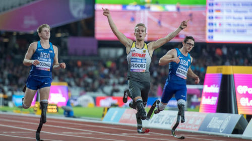 Para-Leichtathletik-WM: Johannes Floors - Foto: Oliver Kremer, sports.pixolli.com