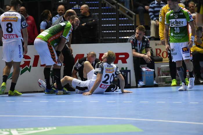 Philipp Weber - HSG Wetzlar vs. SC DHfK Leipzig - Handball Bundesliga - Foto: Rainer Justen
