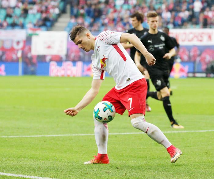 Deutsche Bundesliga, RasenBallsport Leipzig vs. VfB Stuttgart - Marcel Sabitzer (RB Leipzig) - Foto: GEPA pictures/Sven Sonntag