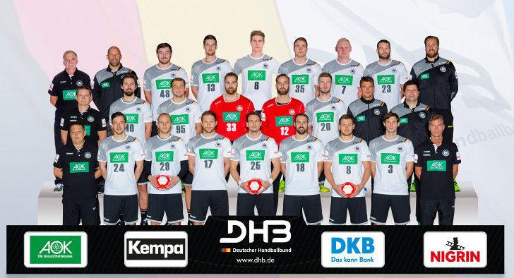DHB – Deutschland – Nationalmannschaft – Männer – bad boys – Handball EM 2018 – Fotomontage: Sascha Klahn/DHB