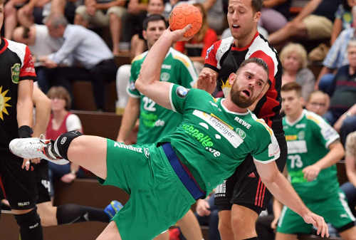 Alen Milosevic - SC DHfK Leipzig - Foto: Rainer Justen